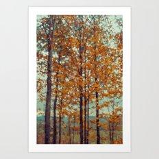 Autumn Atmosphere Art Print
