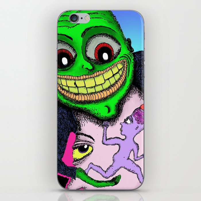 I'd Love to Pick Your Brain iPhone Skin