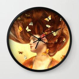 Flickering Dreams Wall Clock