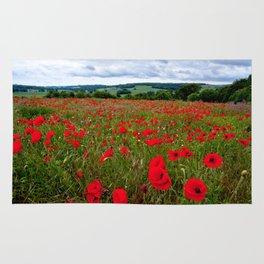 Poppy Field Rug