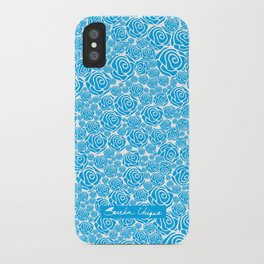 Blue Rose Nation iPhone Case