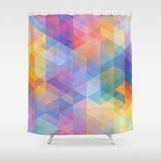 Cuben 15 Shower Curtain