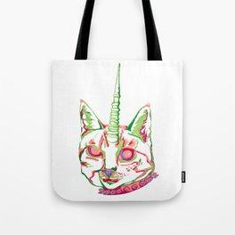 Punk Unicat Tote Bag