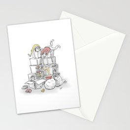 Less is More. Purge. Stationery Cards