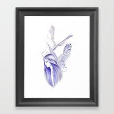 Nomad Heart Framed Art Print