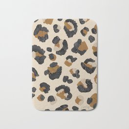 Leopard Print – Neutral Gold Light Palette Bath Mat