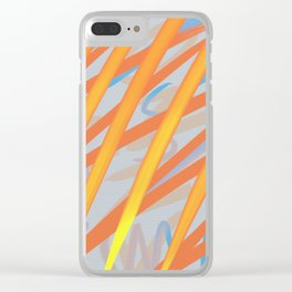 Rushes Clear iPhone Case