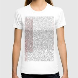 Abstract contour T-shirt
