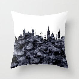 Christchurch skyline New Zealand Throw Pillow