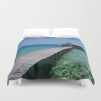 secret life Duvet Covers featuring Secret house by Farkas B. Szabina