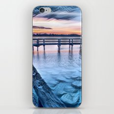 Dock on the River (Sunset) iPhone & iPod Skin