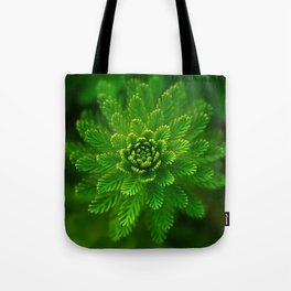 Green Flower | HD Design Tote Bag