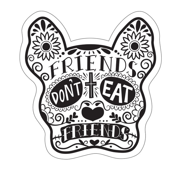 Friends Don't Eat Friends Comforters