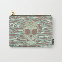 camouflage skull Carry-All Pouch
