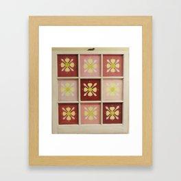 Country Flower Framed Art Print