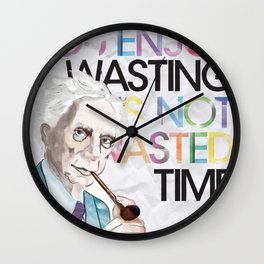 Wasted Time Wall Clock