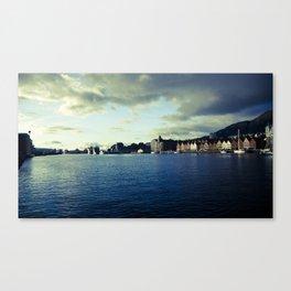 BERGEN CITY, NORWAY Canvas Print