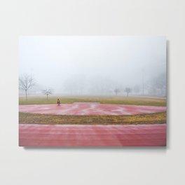 Astoria Track Metal Print