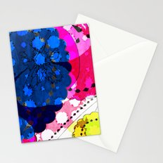 Paisley Pansie Stationery Cards