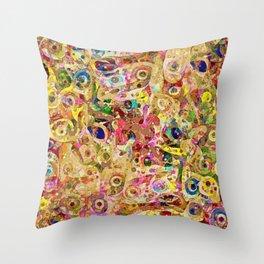 Tous Les Yeux Throw Pillow