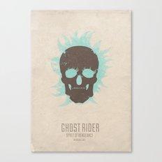 Ghost Rider : Spirit of Vengeance - minimal poster Canvas Print