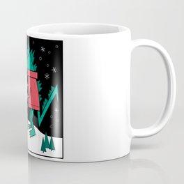Kaiju Christmas Coffee Mug