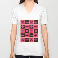 jojo V-neck T-shirts featuring JoJo Vento Aureo Trish Una by El Cadejos