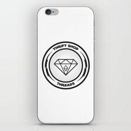 Thrift Shop Threads Button_Diamond iPhone Skin