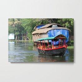 Houseboats IV Metal Print