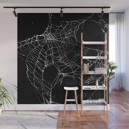 Goth SpiderWeb  Wall Mural