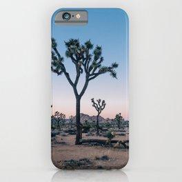 Joshua Tree at Sunset iPhone Case