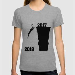 Jump to new year T-shirt