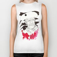 picasso Biker Tanks featuring Picasso by Mitja Bokun
