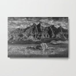 Pinnacles and Spires in the Badlands Metal Print