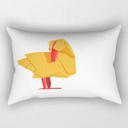 Origami Duck Rectangular Pillow