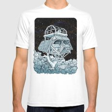 Darth's Treehouse  LARGE Mens Fitted Tee White