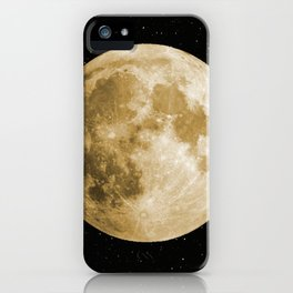 goldenmoon-tapestry iPhone Case