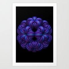 Purple Orb Art Print