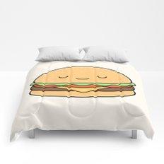 Happy Burger Comforters