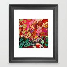 wild floral Framed Art Print