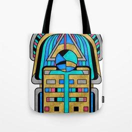 Scarabesque - Digital Art Deco Design Tote Bag