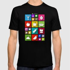 Gastro Windows 8.1 Black Mens Fitted Tee MEDIUM