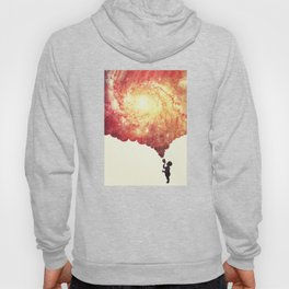 The universe in a soap-bubble! (Awesome Space / Nebula / Galaxy Negative Space Artwork) Hoody