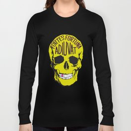 Fortune Favours The Brave. Long Sleeve T-shirt