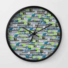 Locomotives - BLS Cargo - by Railcolor Wall Clock