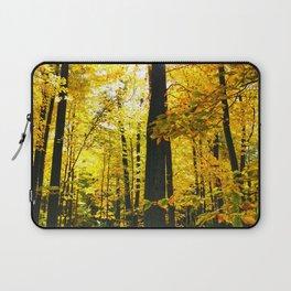 Sun Through Autumn Leaves Laptop Sleeve