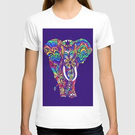 Not a circus elephant #violet by #Bizzartino T-shirt