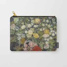 Vincent van Gogh - Bouquet of Flowers in a Vase Carry-All Pouch