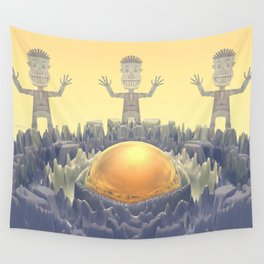 Rock Characters Wall Tapestry
