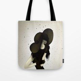 girl in the hat Tote Bag